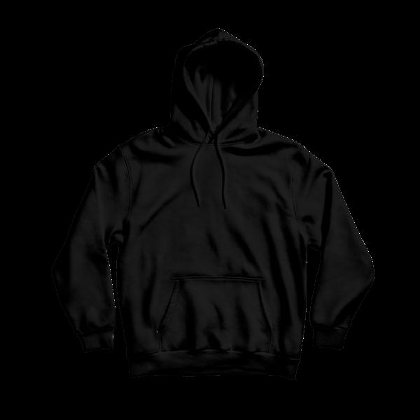 hoodie front blank