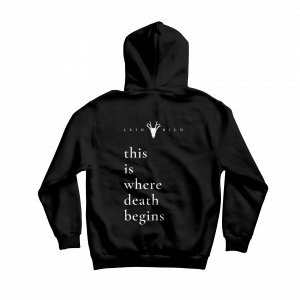 hoodie this is where death begins