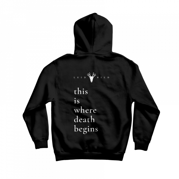 hoodie this is where death begins
