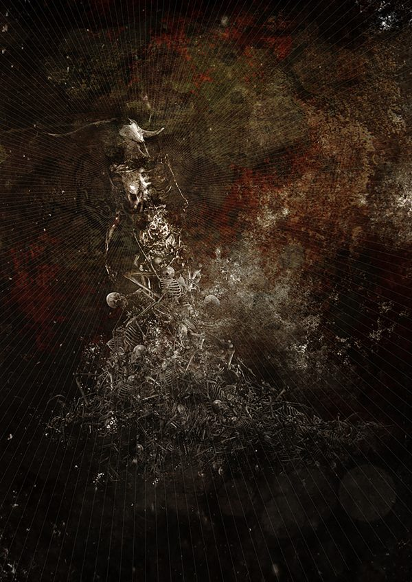 leidbild canvas artprint trauma