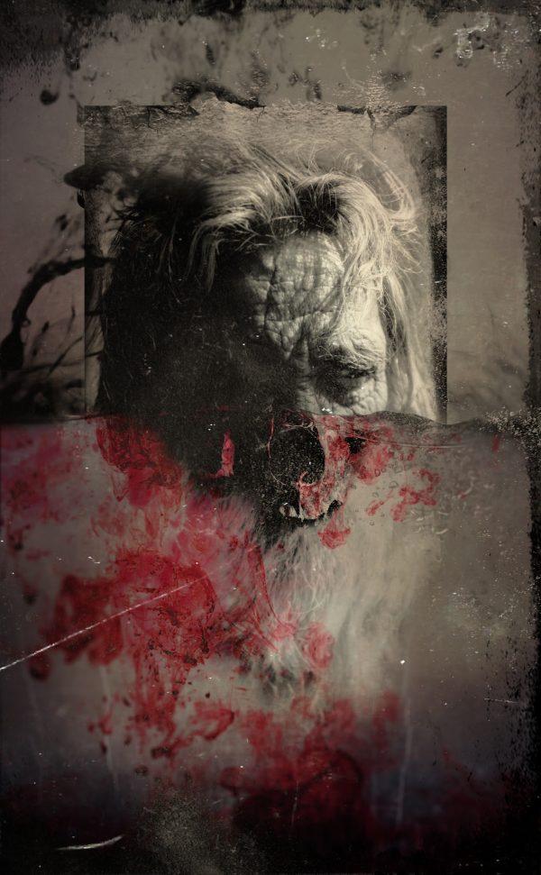 old man dying leidbild reales artwork